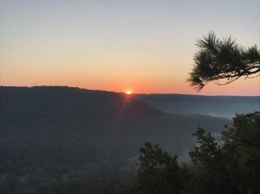 Sunrise at Mount Eagle 10 13 2017